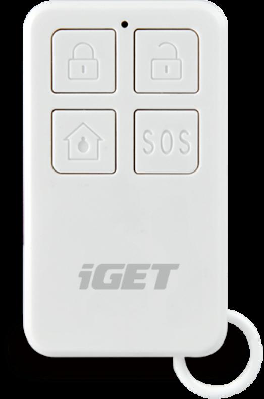 b6040ae69 M3P5 - diaľkové ovládanie /kľúčenka/ k alarmu iGET SECURITY M3